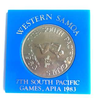1983 Singapore South Pacific Games $1 coin
