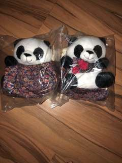 Singapore airline SQ Pandan soft toy