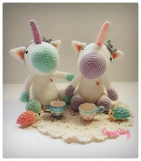 Handmade Unicorn Friend