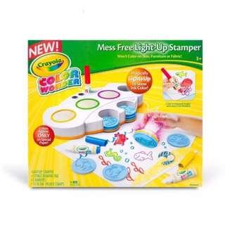Crayola Color Wonder Mess free light up stamper