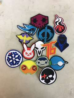 OVERWATCH PATCHES