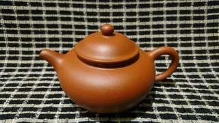 宜興紫砂茶壺,手工朱泥壺
