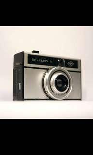 🚚 德國製 Agfa 底片相機 Iso Rapid Ic 非使用135底片