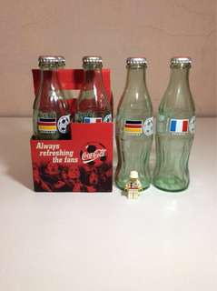 Coca Cola World Cup Glass Bottles