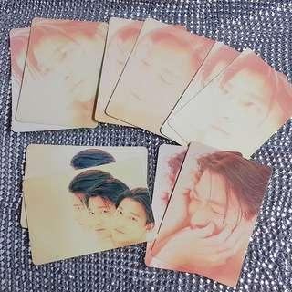 10張=HK$5 劉德華 Andy Lau 絕版 YesCard Yes咭 Yes卡 (((全圖售)))