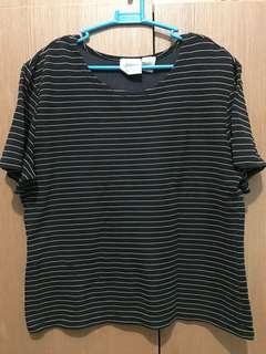 Original Jason Maxwell black and yellow stripes shirt