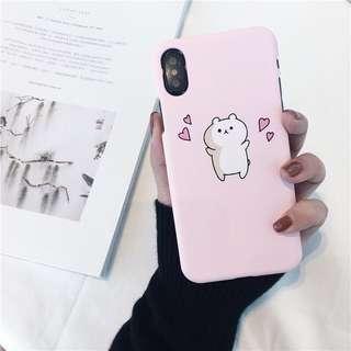 [ PO ] Chubby Bear Phone Case