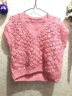 粉紅色冷衫 靚冷