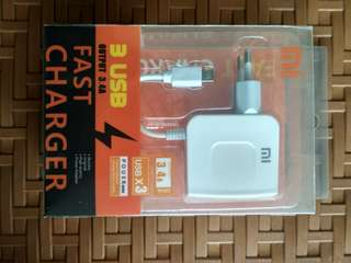 charger 3 usb 3.4A