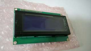 20x4 Alphanumeric LCD Display