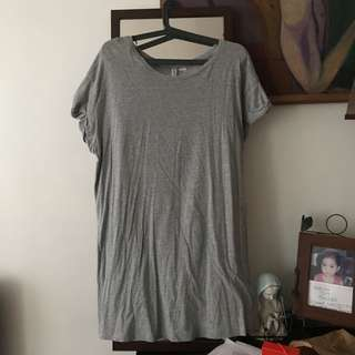 H&M TSHIRT DRESS FITS S-L