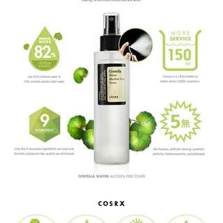 Cosrx Centella Water Toner
