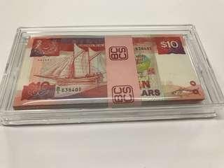 $10 ship series 100 run stack