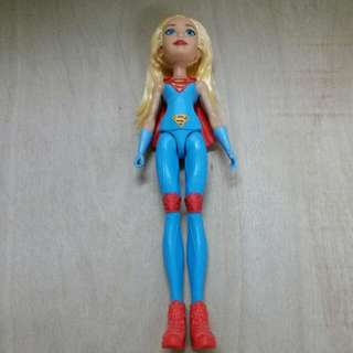 DC Super Hero Girls : Supergirl's Action Training Doll