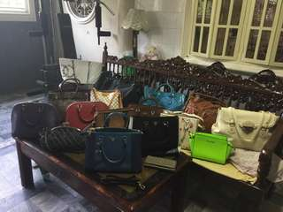 Assorted Branded Bags