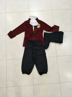 Disney Pirate Captain Fancy Dress Costume Boys Pirates Outfit