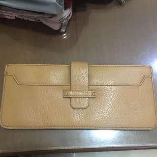 Brown Clutch/wallet