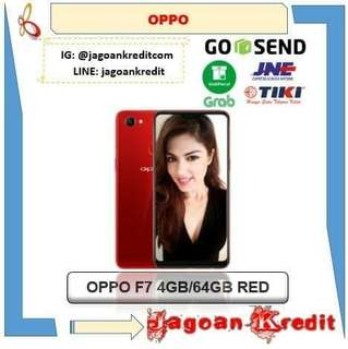 Oppo F7 4/64GB Red Edition Cash dan Kredit Tanpa Kartu Kredit