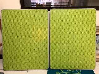綠色點點可收納戶外休閒桌