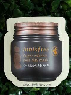 Innisfree Super Volcanic Pore Clay Mask 4g