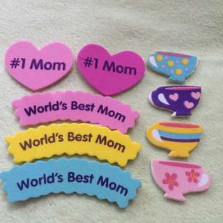 Mother's Day Cut Labels
