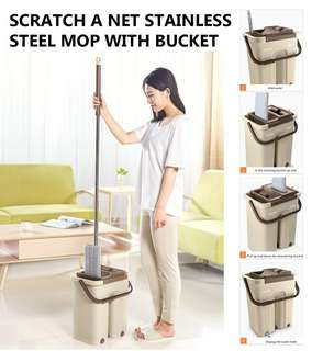 Stainless Steel Mop With Bucket