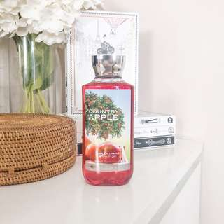 Bath and Body Works Shower Gel Country Apple • Authentic BBW Body Wash
