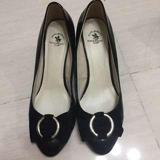 Polo 高跟鞋 黑色 👠 black high heels