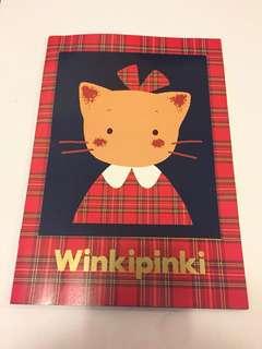 Sanrio vintage Winkipinki 單行簿 1991