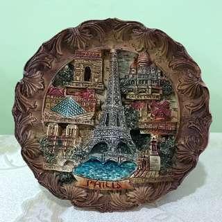 Souvenir Plate - Paris