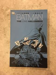 Batman the long halloween