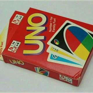 Permainan kartu uno cards games 108 kartu