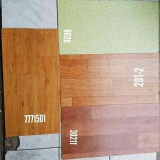 Lantai vinyl roll 1,2mm berbanyak warna