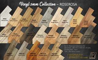 Vinyl Wood Tile 3mm Roserosa