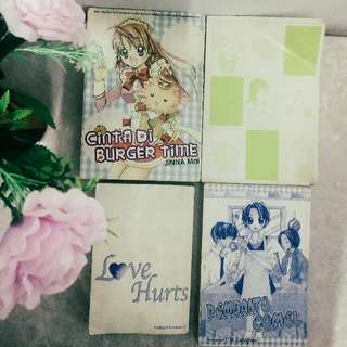 used Shojo Mangas for sale [4 for the price of one]