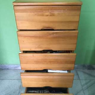 Free Delivery!! 5 Drawers Cabinet solid Pinewood