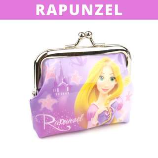 Little Girls Coin Pouch - Rapunzel