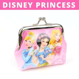 Little Girls Coin Pouch - Disney Princesses