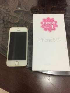 Iphone 5s gold 16gb Mulus Murah Mantab
