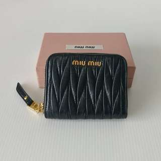 Authentic Miu Miu Zippy Wallet
