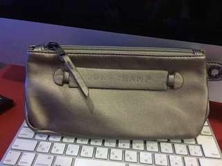 Longchamp Authentic soft leather Wrislet with flaw no Wrislet strap