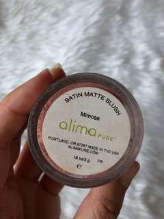 Alima Pure Satin Matte Blush in Mimosa