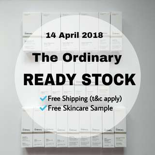 Latest Update Ready Stock The Ordinary Skincare