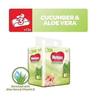 Huggies Cucumber & Aloe Vera Wipes