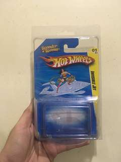 HOT WHEELS INVISIBLE JET SDCC 2010