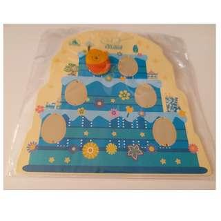迪士尼花蛋徽章襟章 廸士尼 小熊維尼 Disney Pins Egg Pins Winnie the Pooh