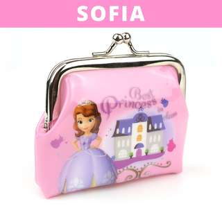 Little Girls Coin Pouch - Pink Sofia