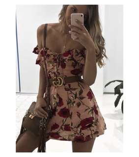 WhiteFox (RP $79.95) floral dress