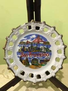 Souvenir Plate - San Francisco