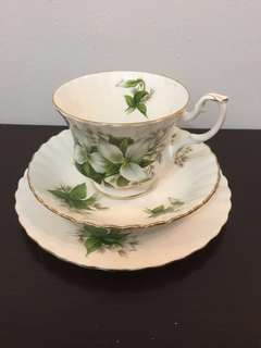 Teacup set trio Royal Albert Trilium